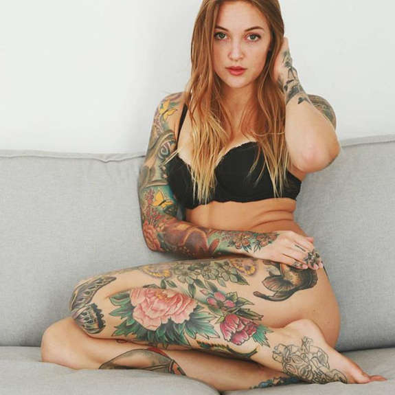 Beautiful tattooed girls.