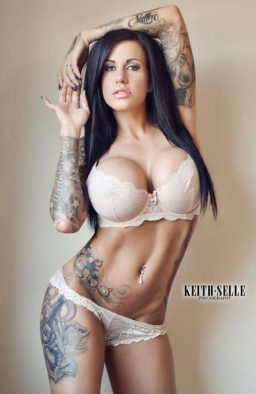 Beautiful brunette tattooed girls.